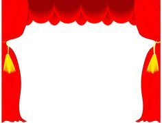 Theatre clipart drama  Theater Stage border Office/Client