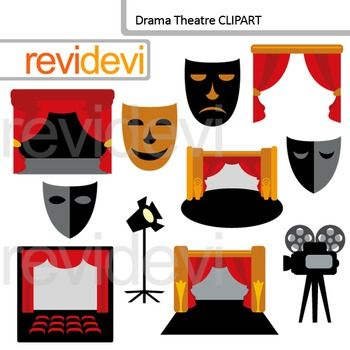 Theatre clipart drama class Clipart images art drama for
