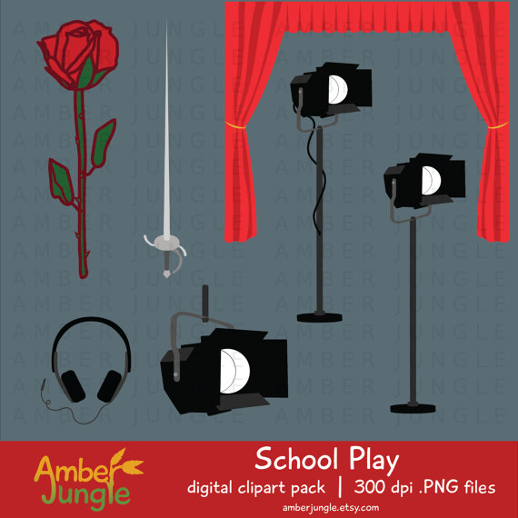 Theatre clipart drama class Clipart Acting Clip  Theater