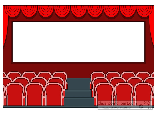 Theatre clipart frame Clipart Cinema Cliparts Theater Cliparts
