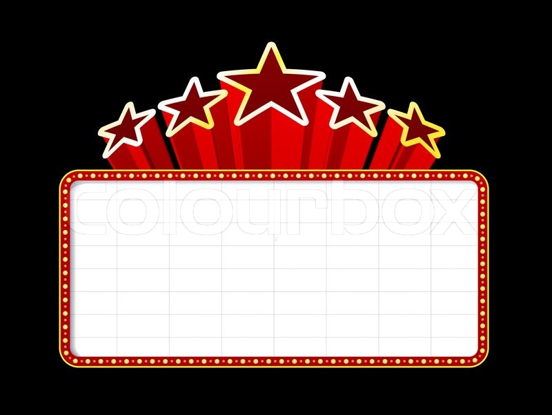 Theatre clipart frame Theater Clip Borders Free Movie
