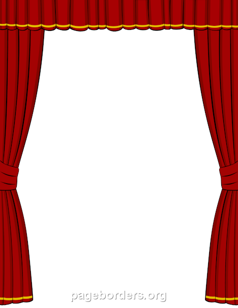 Theatre clipart frame The Microsoft stage Use border