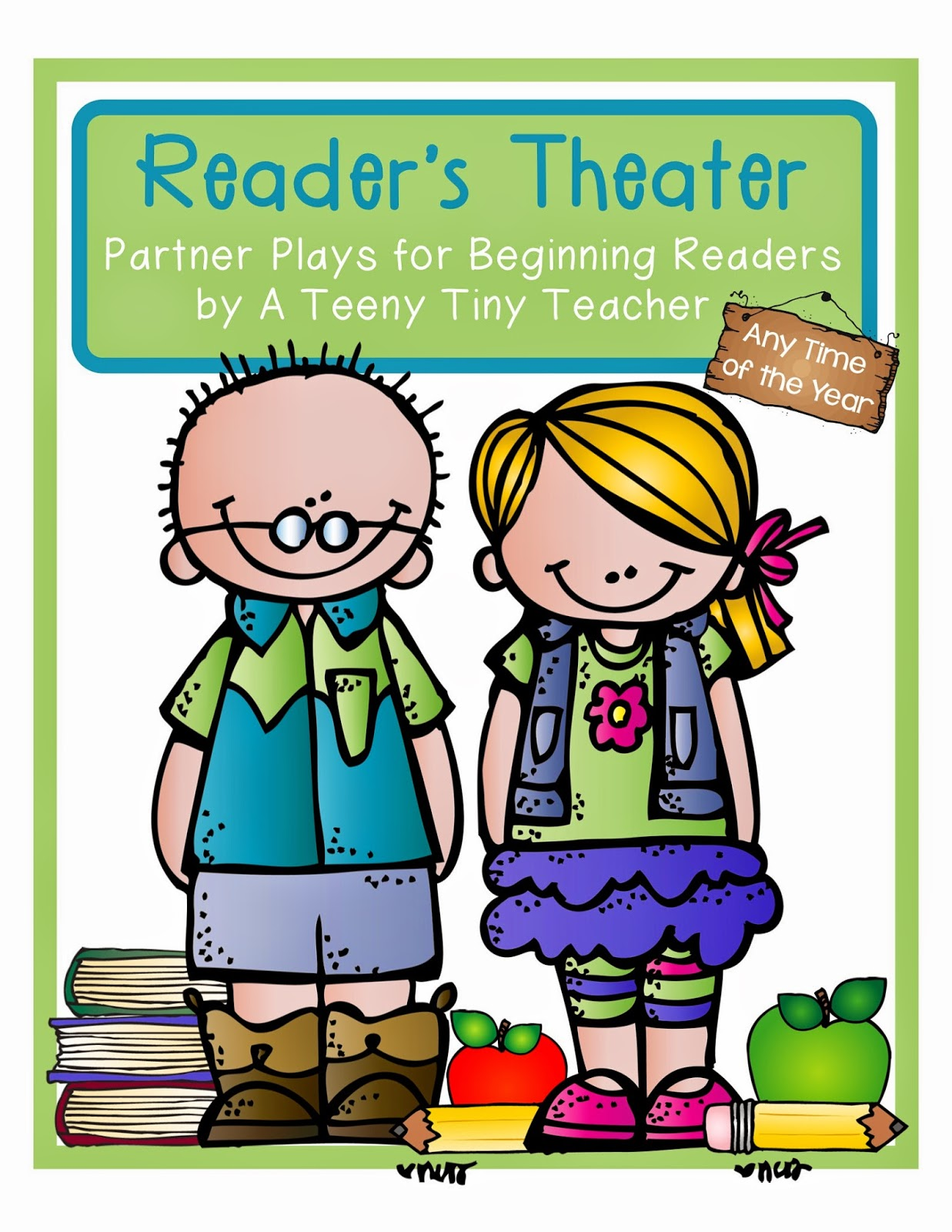 Theatre clipart readers theater Theater Teeny Teacher Reader's A