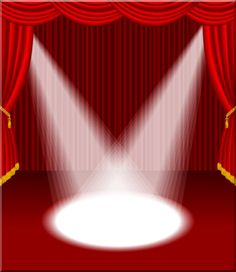 Theatre clipart red curtain Curtains and curtains Red velvet