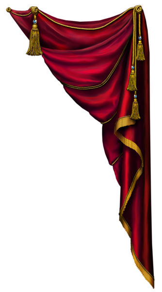 Theatre clipart red curtain CurtainsWindow Stage on  Backdrop