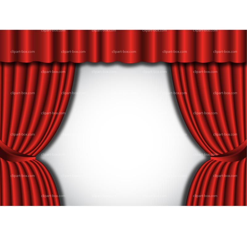 Curtain clipart red curtain Clip Clip Red Download Red