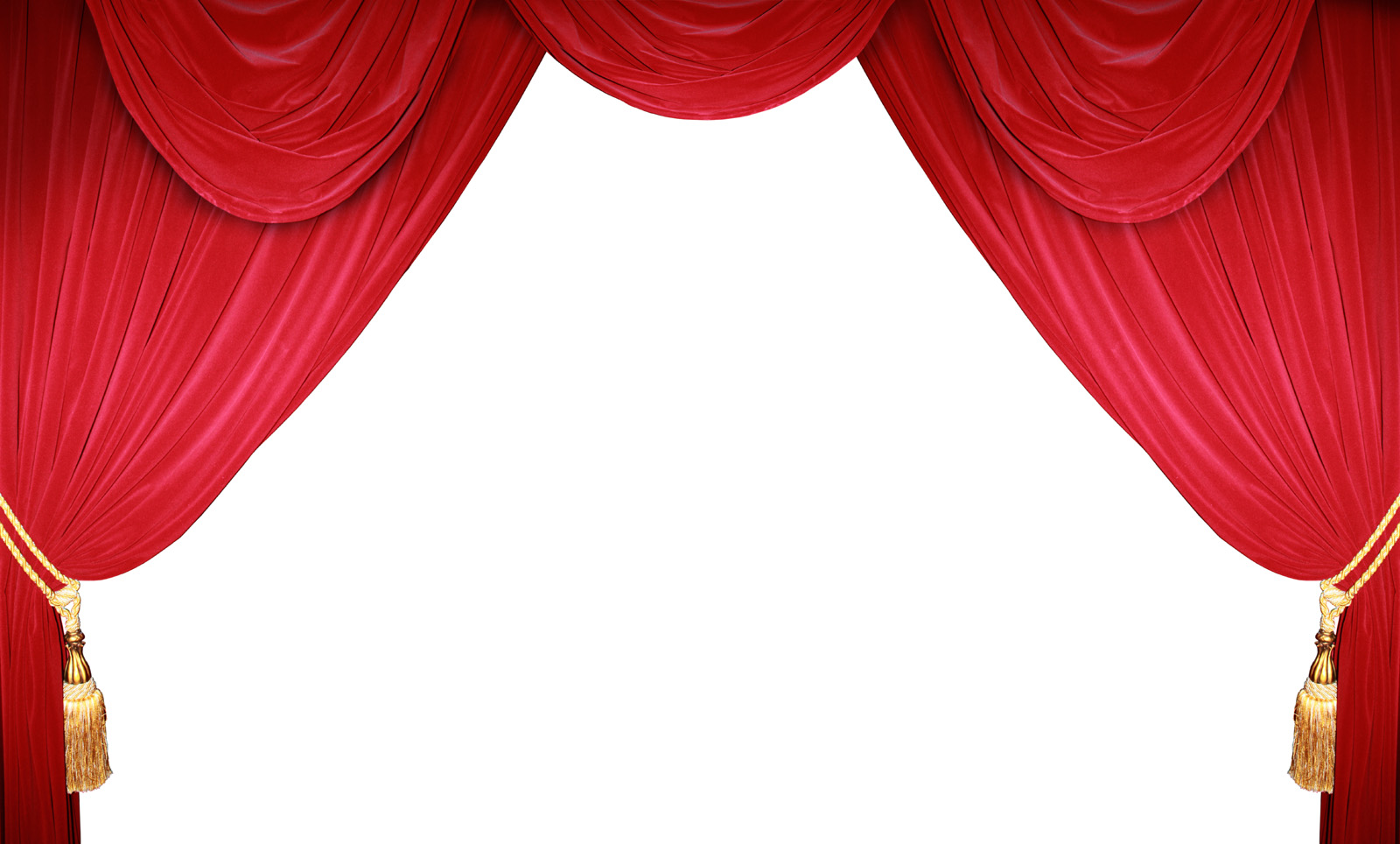 Theatre clipart red curtain Stage Clip on  Curtains