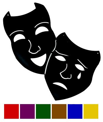 Theatre clipart silhouette ~ Comedy ClipartFan Comedy Clipart