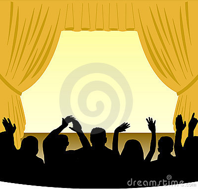 Theatre clipart theatre audience Icons8 Icon Download Audience