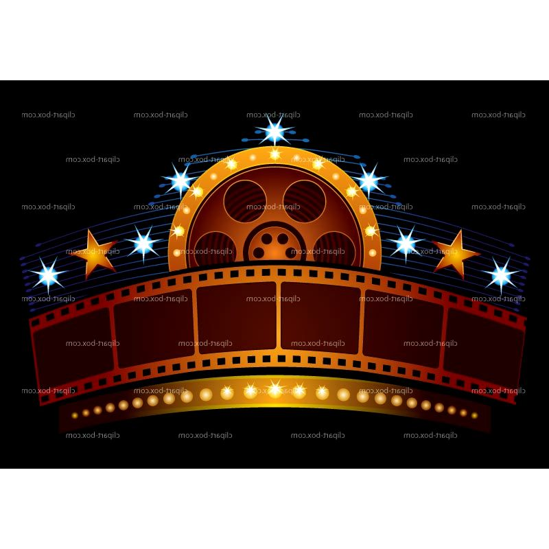 Building clipart movie theater Clipart Picture Movie Kit Theater