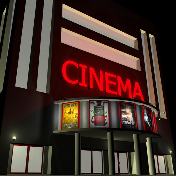 Bulding  clipart movie theater Gallery thepolys by Cinema 3d