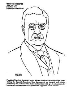 Theodore Roosevelt clipart Roosevelt (Teddy) Roosevelt  Pinterest