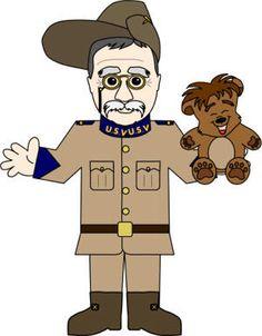 Theodore Roosevelt clipart Rosevelt