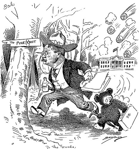 Theodore Roosevelt clipart Teddy Bear Clipart The Cartoon To Roosevelt Theodore