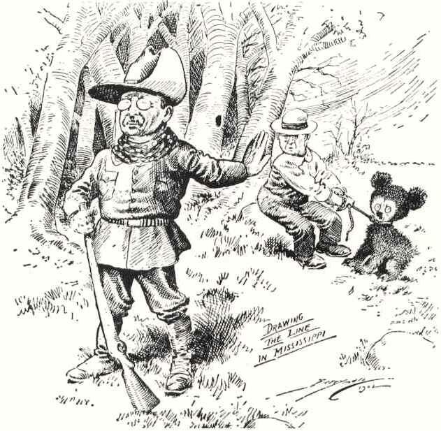 Theodore Roosevelt clipart Teddy Bear Clipart Bear