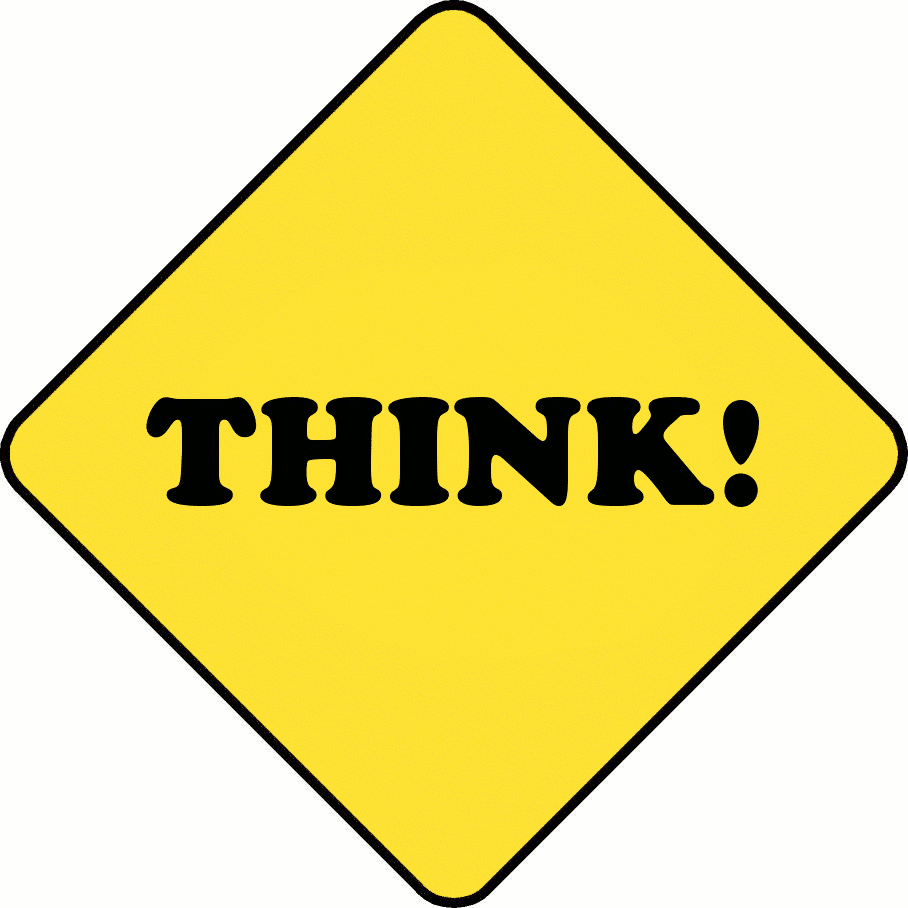 Think clipart Page Download Think Think Art