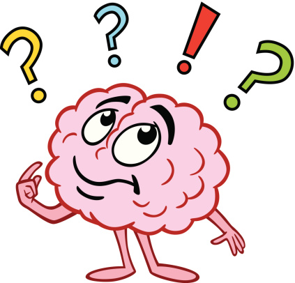 Thinking clipart  Free Clip brain Art