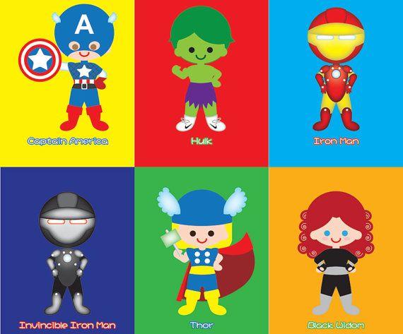 Baby clipart avenger On Printable Avenger Digital File