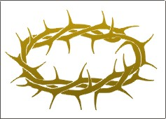 Thorns clipart bloody crown Of Collection Crown Crown clipart