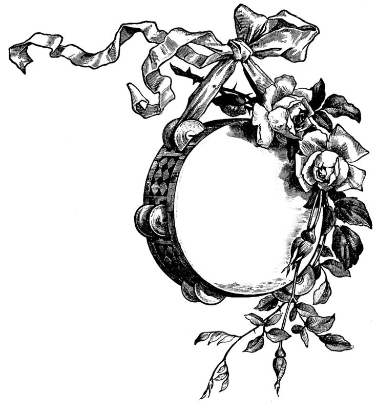 Thorns clipart antique frame Facilisimo best TagsVintage 86 images