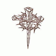 Thorns clipart bloody crown Old of Cross Thorns with