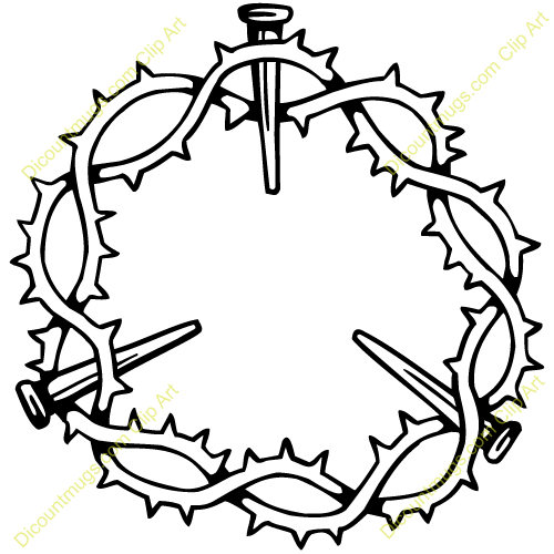 Thorns clipart crown thorns Thorn Info from Clipart crown