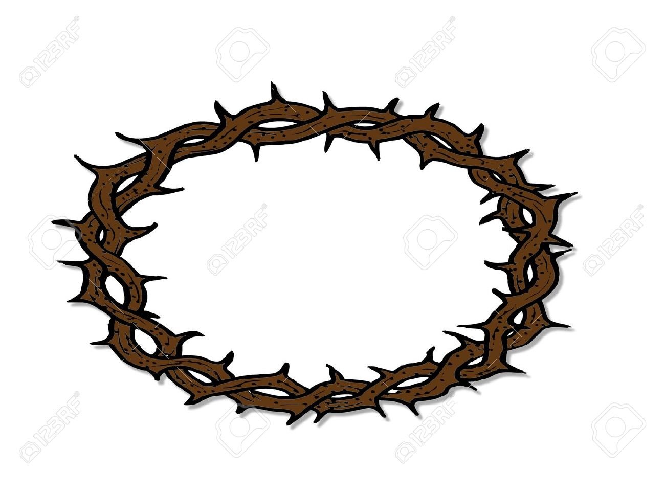 Thorns clipart crown thorns Crown Of Clipart  788