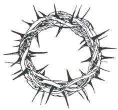Drawn crown Crown Catholic Clipart Thorns Doornenkroon