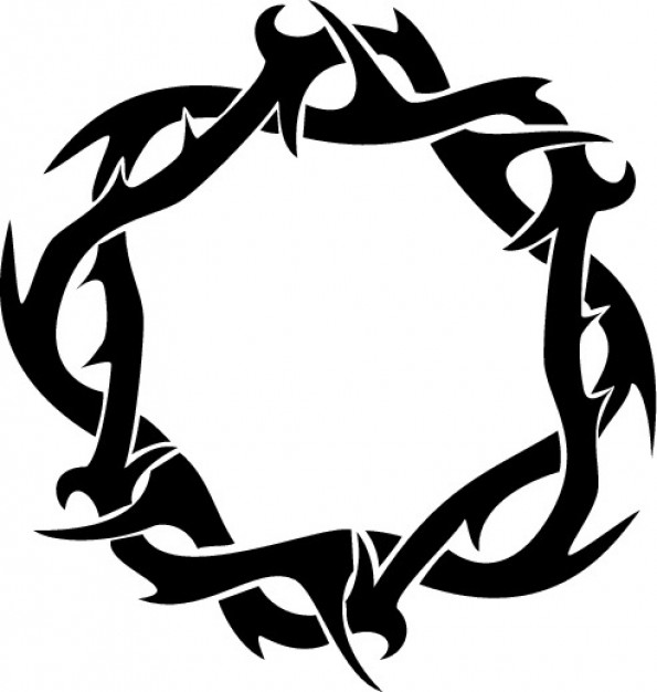 Thorns clipart tribal Pinterest view ring view crown
