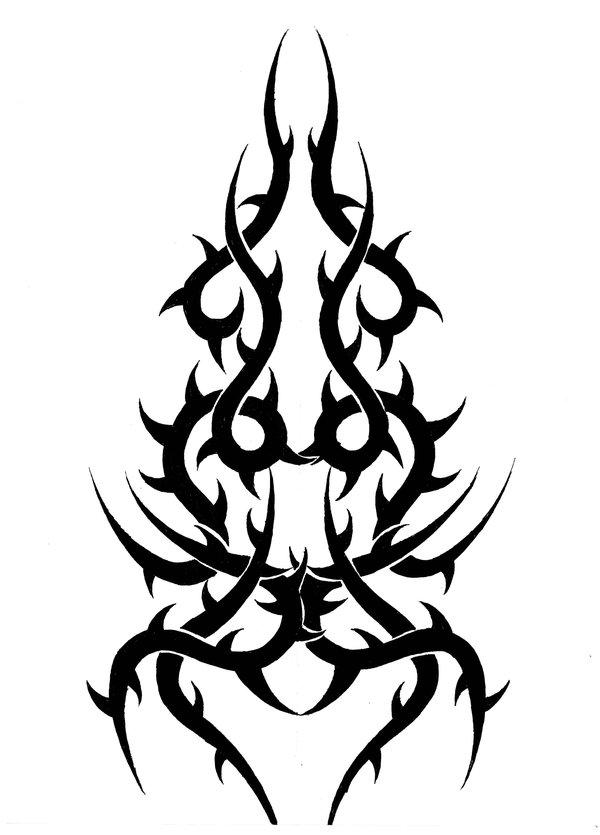 Thorns clipart tribal Tattoo  deviantART by deviantART