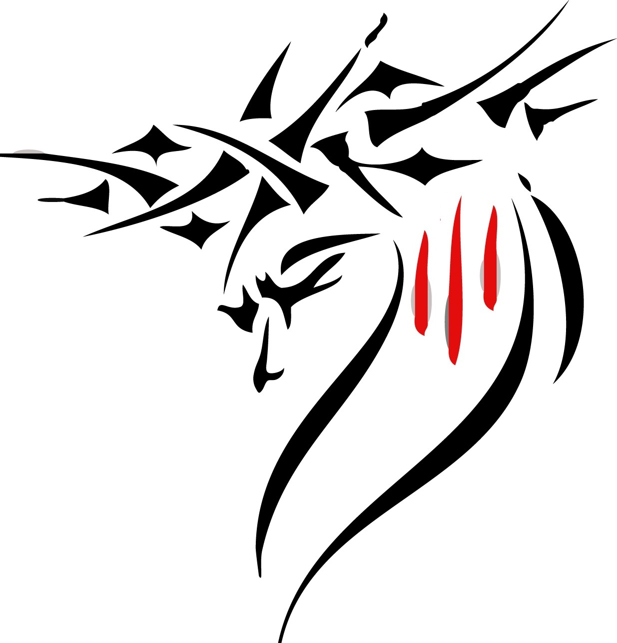 Thorns clipart tribal Maps  Download Tattoos of