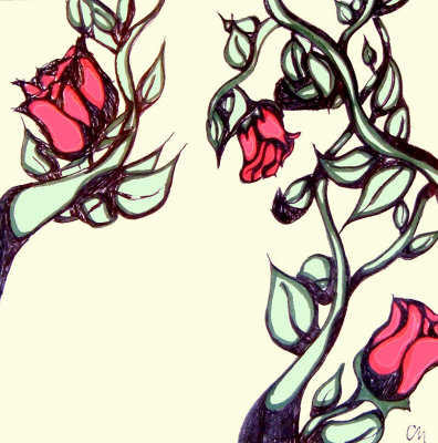 Rose Bush clipart rose vines #6