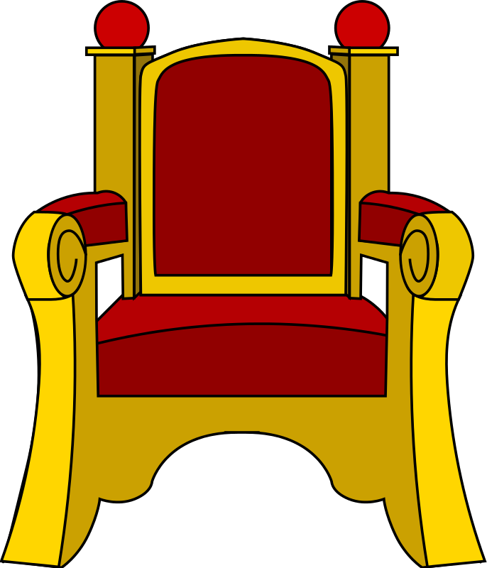 Throne clipart large King Clipart Sitting On Clipart