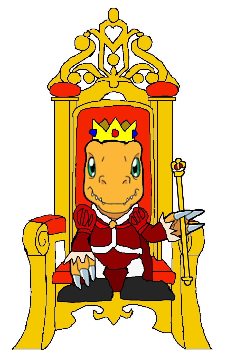 Throne clipart cartoon By Agumon KingLeonLionheart Throne King