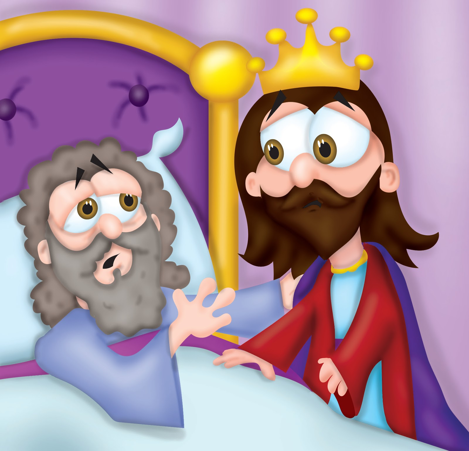 Wisdom clipart king david David of as his very