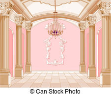 Palace clipart inside Magic room Throne castle