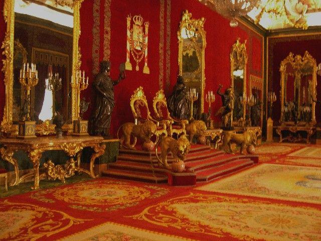 Throne clipart real Castle royal Palacio Madrid :