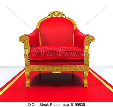 Throne clipart real Throne  isolated background 225