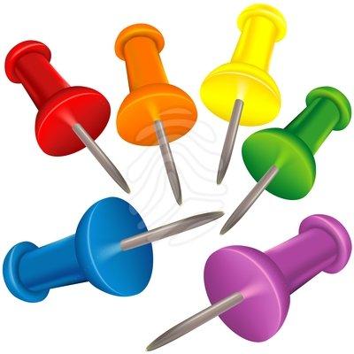 Thumb Tack clipart  on #83883521 Thumbtack Thumbtack