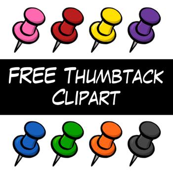 Thumb Tack clipart On Clip Clip Thumb Art