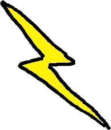 Thunder clipart red Public Lightning Clipart Free clip