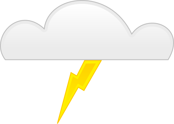 Thunder clipart animated  com Clip this as: