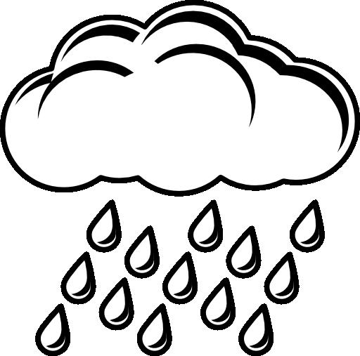 Thunderstorm clipart black and white White Free rain%20clipart%20black%20and%20white Clipart Images