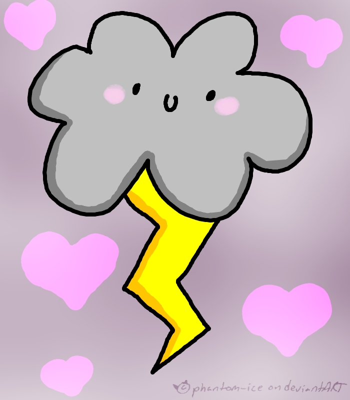 Thunder clipart cute Cute Little by phantom Cute