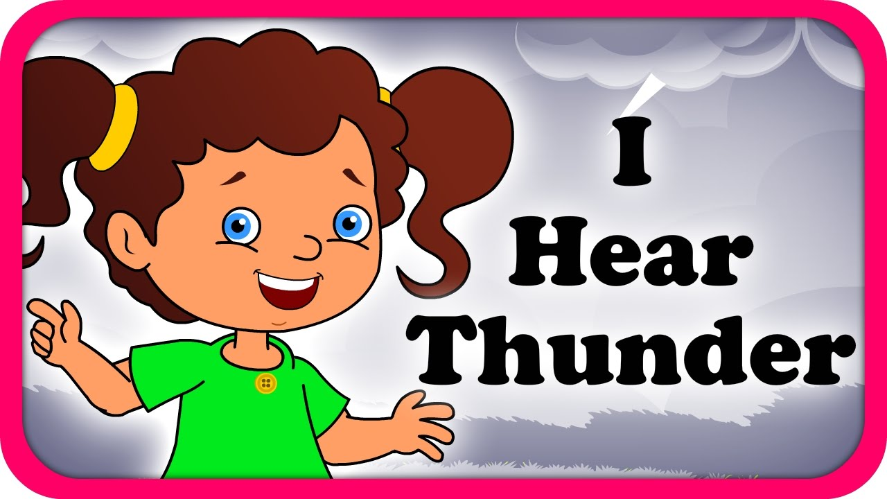 Thunder clipart i hear Hear English Video Full Lyrical