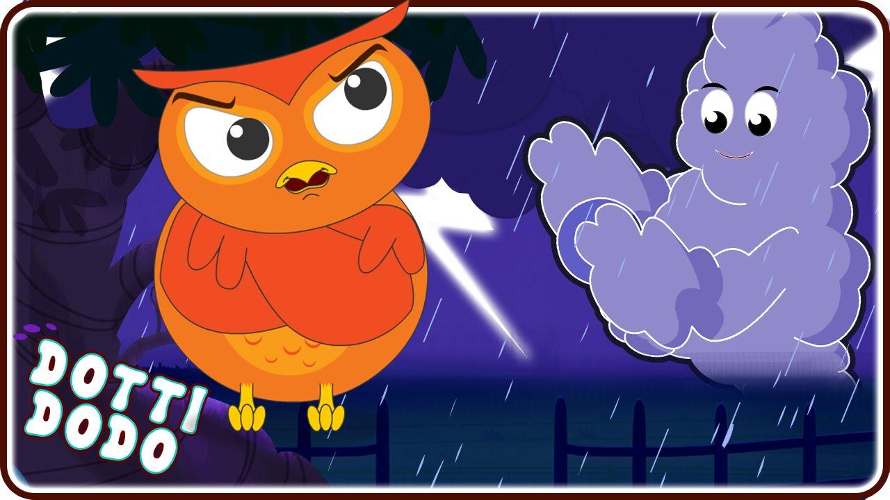 Thunder clipart i hear Thunder With Rhymes For Nursery