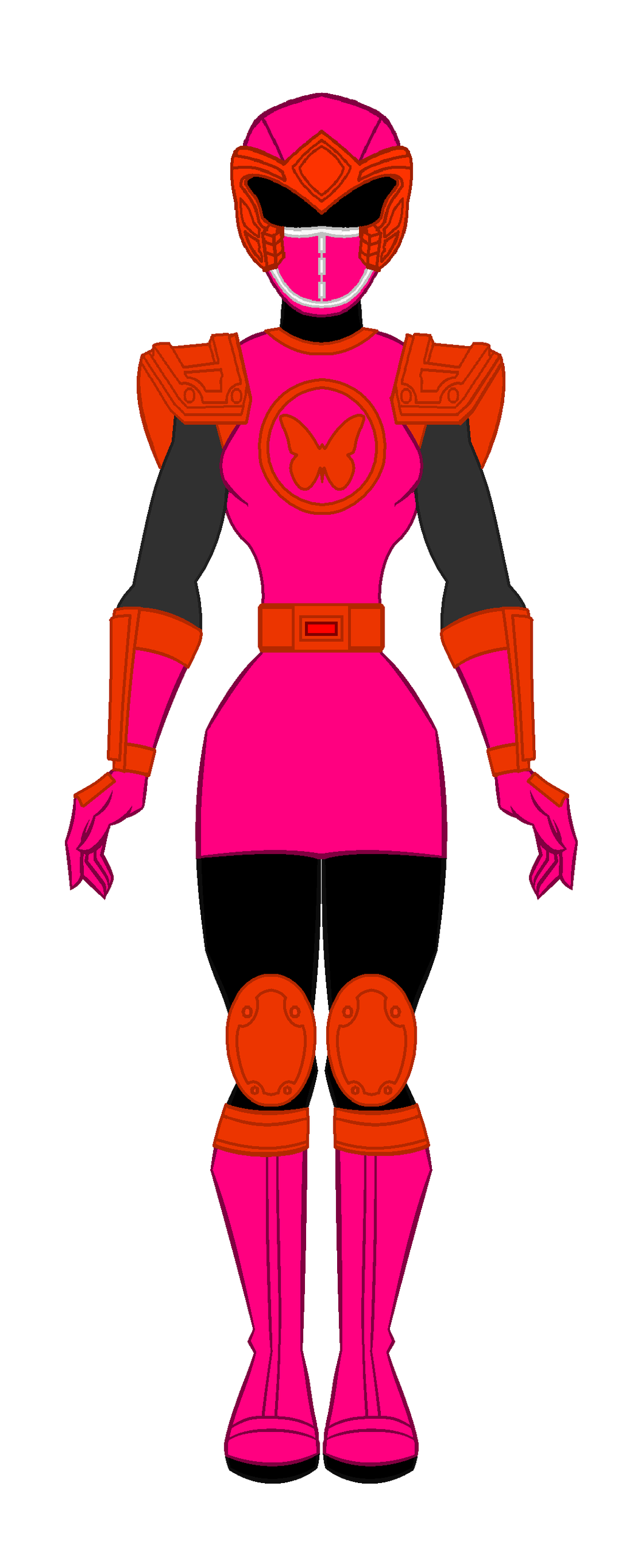Thunder clipart pink  PowerRangersWorld999 Pink Pink Power