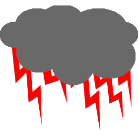Thunder clipart red Image Red Thunder FANMADE Fandom