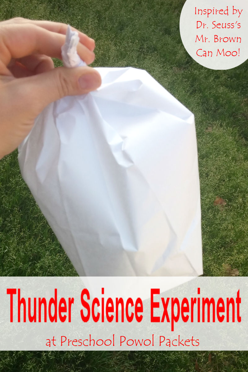 Thunder clipart science sound Here Experiment a  Seuss