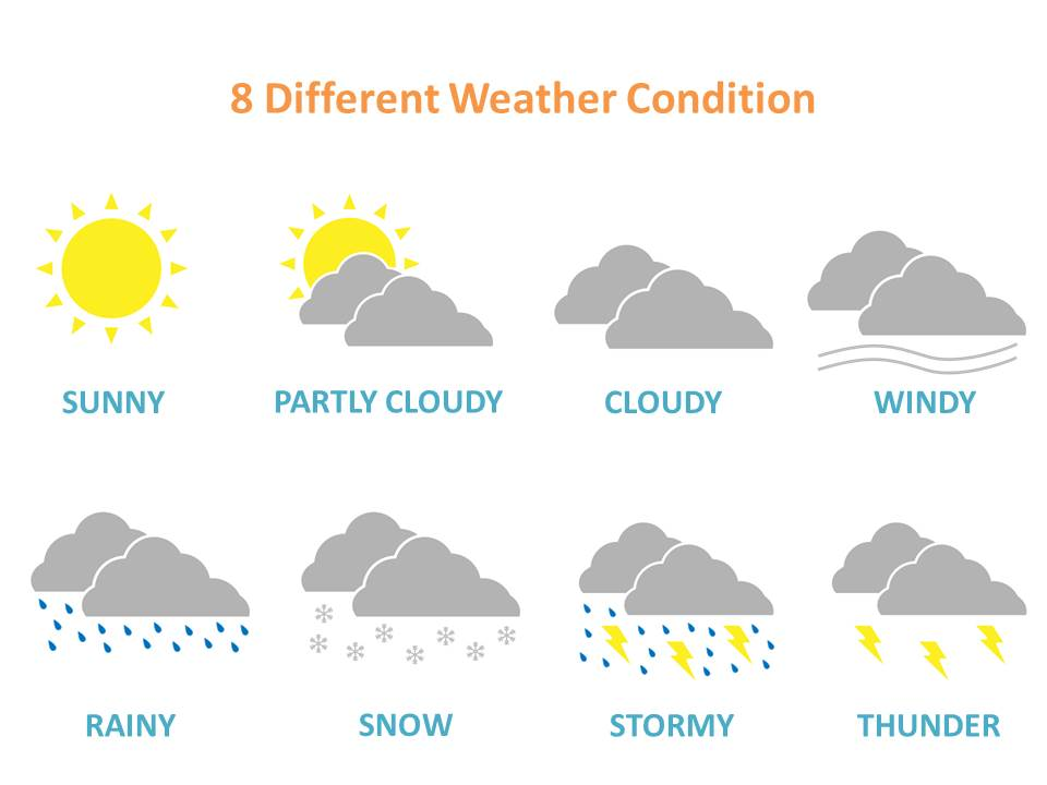 Season clipart different kind weather #15